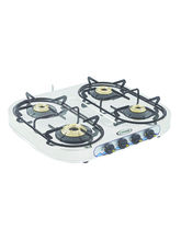 Sunshine Skytech Four Burner Stainless Steel Gas Stove, png, manual