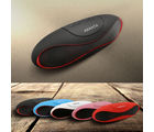 ABANTA BT 73 - Mini Rugby Portable Bluetooth Mobile / Tablet Speaker available in 5 Colours- Black / Red / Blue / White / Pink, black