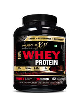 MuscleXP 100% Whey Protein - 2Kg (4.4 Lbs) , Double Rich Chocolate - The New Whey Standards (MUSXP01)