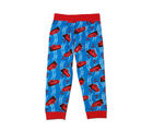 Kuddle Kids Red Cars Rib Pants (1333), blue and red