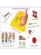 ACM Acupressure Mat For Stress And Pain Relief With Acupressure Kit (NP7)