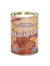 Shrey's Miviprot Protein Powder for Healthy Nutrition (Chocolate) with DHA-200 gms