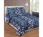 Best Deal Double Bed Sheet With Pillow Cover Cottonwa0015, multicolor