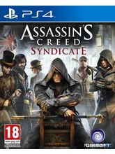 Assassin's Creed: Syndicate PS4, dvd