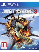 Just Cause 3 for PS4, dvd