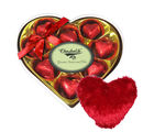Complete Gift For Your Love With Heart Pillow - Chocholik Luxury Chocolates