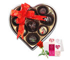 Gracious Love Chocolates With Love Card And Rose - Chocholik Belgium Chocolates