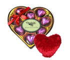 Ineffable Chocolate Collection With Heart Pillow - Chocholik Luxury Chocolates