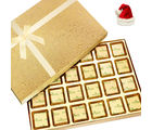 Ghasitaram Christmas Gifts Chocolates Golden 24 pcs Assorted Chocolate Box