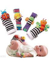 Lamaze Baby Rattle Toys Garden Bug Wrist Rattle Fo...