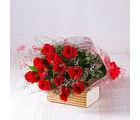 Giftacrossindia Bouquet of Dozen Red Roses (GAIMPHD0001), 1000 gms
