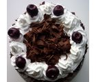 Giftacrossindia Two Kg Black Forest Cake (GAICAK0026), 1000 gms
