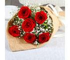 Giftacrossindia Exclusive Romantic Red Roses Bouquet (GAIMPHD0038), 1000 gms