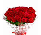Giftacrossindia Bouquet of 50 Red Roses (GAIMPHD0522), 1000 gms