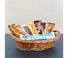 Giftacrossindia Imported Chocolate Basket (GAICOU0020), 1000 gms