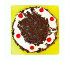 Giftacrossindia Delicious One Kg Black Forest Fresh Cream Cake (GAIMPHD0095), 1000 gms