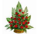 Giftacrossindia Basket of 20 Red Roses (GAIMPHD0541), 1000 gms