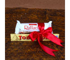 Giftacrossindia Raffaello and Toblerone Chocolates (GAICOU0026), 500 gms