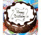 Giftacrossindia Birthday Black Forest Cake (GAICAK0023), 1000 gms