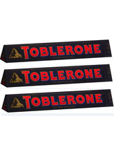 Toblerone Swiss Dark Chocolate with Honey and Almond Nougat, 3.52-Ounce Bar 100g (Pack of 3)