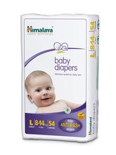 Himalaya Baby Diapers Large 54 pc - Pack of 2