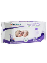 Himalaya Herbal Soothing Baby Wipes - 72 Pieces x 6