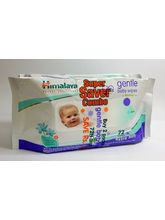 Himalaya Gentle Baby Wipes Super Saver Combo Pack of 2 72 wipes each x 4