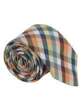 Vibrant English Plaid Tie