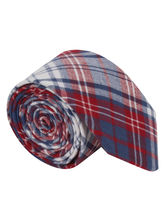 Red and Blue Check Tie