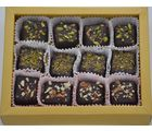 Grand Ellora Assorted Chocolate Truffles -12 Piece Box - Diwali Gift
