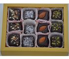 Grand Ellora Assorted Chocolate Truffles -12 Piece Box - Birthday Gift
