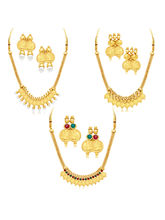 Sukkhi Exquitely Laxmi Coin Temple Gold Plated Set...