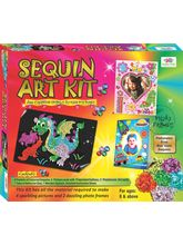 SEQUIN ART KIT ART & CRFAT TOYS