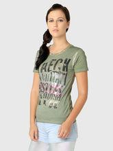 T-Shirt, xxs, green