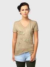 T-Shirt, xs, beige