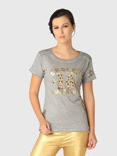 T-Shirt, xs, grey