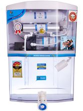 Ozean Gold 12L RO+ UV+ UF with Mineral Water Purifier, white