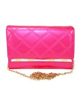 Beautiful Pink Long Sling Clutch Purse For Women