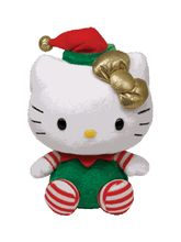 Jungly World Pvt Ltd-Hello Kitty - Green Christmas Outf