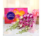 Ferns N Petals Orchids Enchantment (AFF-EXFNP97)