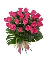 India Gifts Hub Pink Roses Bouquet 12 Flowers (IGHFLOW030)