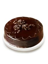India Gifts Hub Chocolate Truffle Cake Half KG (IGHCAKE009)