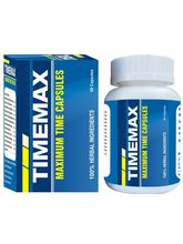 Shivalik Hebals Timemax 60 Caps Bottle packing (SH_ M003)