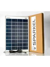 Sparkel 20W Solar Panel with five meter long wire for DC connection