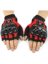Pro Biker Bike Cycling Gloves (PRBH019), l, red