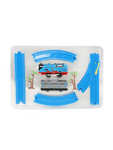 Emob Electric Toy Train With Track Set And Amazing Sound, multicolor