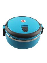 Shopizone Tedemei Single Layer Lunch Box 700ML (HK-BU-1003), blue