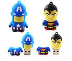 Shopizone 32 GB Pendrives USB 2.0 Captain America+ Superman Storage Flashdrive, 32 gb