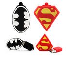 Shopizone 32 GB Pendrives USB 2.0 Batman+ Superman Triangle Storage Flashdrive, 32 gb